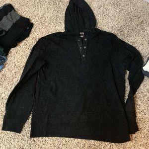 Sweater...dark gary